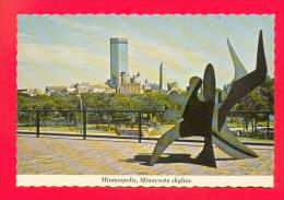 U.S.A.  MINNESOTA  -  MINNEAPOLIS  -  869  Viewing The Skyline Of Minneapolis From The Walker Art Center - Minneapolis