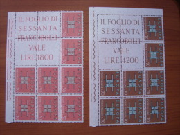 1963 BLOCCO ANGOLARE MNH** - EUROPA UNITA - 6. 1946-.. Repubblica