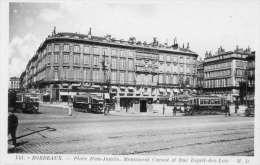 BORDEAUX - PLACE JEAN JAURES LES TRAMWAYS - Bordeaux