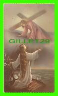 IMAGES RELIGIEUSES - CASTITAS PAUPERTAS OBOEDIENTIA - BORDURE D'OR - LEB No 2106 - - Devotion Images
