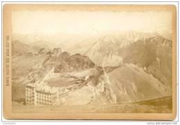 Grand CDV-(CAB) SUISSE-montagne Fin XIXe Siècle--chemin De Fer De Glion Naye-Train-Vue Panoramique - Places
