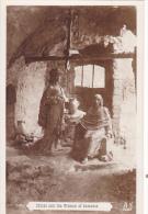 CHRIST AN THE WOMAN OF SAMARIA N°28  A N - Sculture