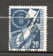 ALLEMAGNE Navigation Fluviale 1953 N°56 - [7] Federal Republic