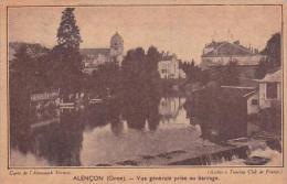 France Alencon Vue Generale Prise Au Barrage - Alencon