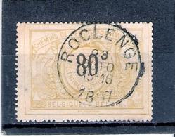 COB TR.24 - Obl:gest/used - Roclenge 23 Octo 1897 (à Voir) - Bahnwesen