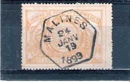 COB TR.27 - Obl:gest/used - Malines 24 Janv 1899 (à Voir) - Bahnwesen
