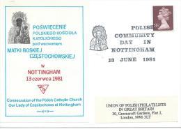 1981.POLISH COMMUNITY DAY ,NOTTINGHAM - 1939-44: World War Two