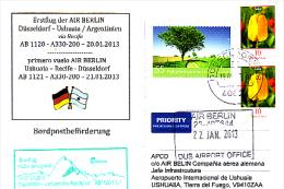 Erstflugpost - Air Berlin - Düsseldorf - Ushuaia - 20.01.2013 [dz85] - Luftpost