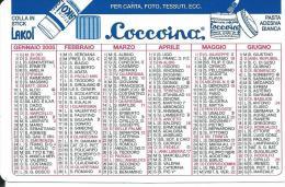 CAL522 - CALENDARIETTO 2005 - COCCOINA - Calendari