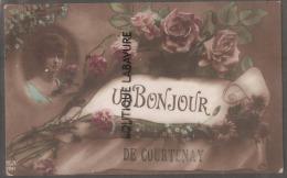 45---Un Bonjour De COURTENAY - Courtenay