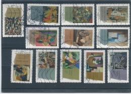 Art 2012. Peintures Du XX° Siècle. Cubisme. YT 699 à 710 - Sellos Autoadhesivos
