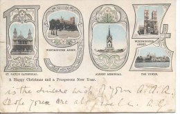 LONDON - LARGE NUMBER CARD FOR 1904 Lo678 - London