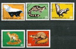 Bulgarien - Mi .Nr.    3333   - 3337 -    Gestempelt - Gebraucht