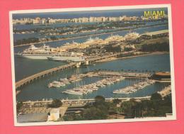 USA :  FLORIDA - MIAMI Marina Dodge Island Seaport - Miami