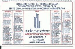 CAL401 - CALENDARIETTO 1996 - STUDIO MARCEDONE - CATANIA - Calendari