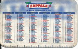 CAL402 - CALENDARIETTO 1996 - ZAPPALA´ -  DELDI´ IL LATTE DEL GIORNO - Calendari