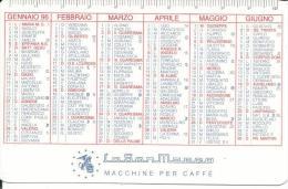 CAL403 - CALENDARIETTO 1996 - LA SAN MARCO MACCHINE PER CAFFE´ - Calendari