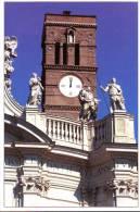 Campanile Con Orologio A Santa Croce In Gerusalemme Roma - Edificio & Architettura