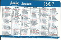 CAL443 - CALENDARIETTO 1997 - INA ASSITALIA - Calendari