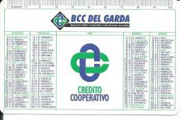 CAL444 - CALENDARIETTO 1997 - BCC DEL GARDA - Calendari