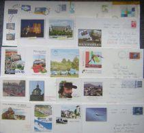 PAP  Prêt à Poster, Lot 18  PAP Différents  Dont 1 Distingo, 1 Lettre Max, 1 Réexpédition - Sur Timbre Différents - Postal Stamped Stationery