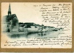Sens (Yonne) Au Passage De L'Yonne.   (LES 2 CARTES) - Sens