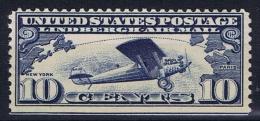 USA: 1927 Mi 306 D , Sc C 10 MNH/** - 1b. 1918-1940 Unused