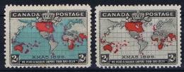 Canada: 1898 Mi 74 A + B  , Sc  86 MH/* - 1851-1902 Regering Van Victoria