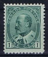 Canada: 1903 Mi 77 , Sc  89 MNH/** - Unused Stamps