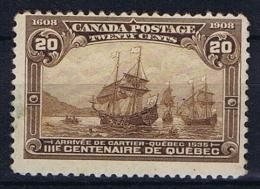 Canada: 1908 Mi 77 , Sc  103 MH/* - Unused Stamps