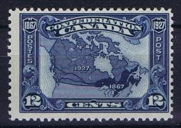 Canada: 1927 Mi 122,  MH/* - Ongebruikt