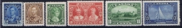 Canada: 1935 Mi 178 - 183, Sc 211 - 216, MNH/** - Unused Stamps