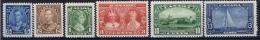 Canada: 1935 Mi 178 - 183, Sc 211 - 216, MNH/** - Ongebruikt