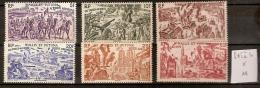Wallis Et Futuna PA 5 à 10 * Côte 11 € - Poste Aérienne