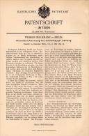 Original Patentschrift - W. Bergemann In Berlin , 1893 , Streichholz - Feuerzeug , Streichhölzer , Zündhölzer !!! - Dokumente