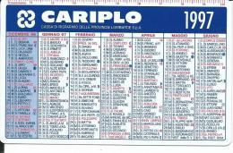 CAL452 - CALENDARIETTO 1997 - CARIPLO - Calendari
