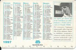 CAL454 - CALENDARIETTO 1997 - LEGA DEL FILO D´ORO - Calendari