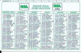 CAL455 - CALENDARIETTO 1997 - NUOVA MAA ASSICURAZIONI - Calendari