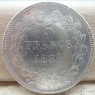 Pièce De 5 F LOUIS PHILIPPE  En Argent 1832 H. Très Belle Pièce - France