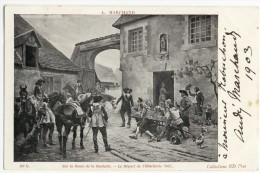 Carte Adressée à Monsieur ROBUCHON Par André MARCHAND - La Rochelle