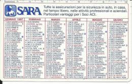 CAL459 - CALENDARIETTO 1997 - SARA ASSICURAZIONI - Calendari