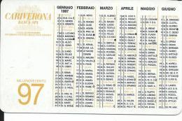 CAL463 - CALENDARIETTO 1997 - CARIVERONA - Calendari
