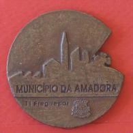 PORTUGAL        MEDALHA DO MUNICIPIO DA AMADORA - 11ª FREGUESIA KM#   -    (Nº03571) - Militari