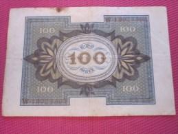 Berlin Septembre 1920 Reichbanknote  100 Mark BANK BILLET DE BANQUE BANCONOTE BANKNOTE BILLETES BANKNOTEN 1978 - 100 Mark