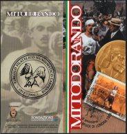 OLYMPIC GAMES LONDON 1908 - ITALIA CARPI 2008 - DEPLIANT MOSTRA FILATELICA: MITO DORANDO PIETRI - Giochi Olimpici