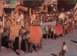 (140)  Elephant - India Jaipur - Elephants