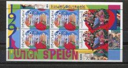 Netherlands 1991 Sheet  Sc B661B Mi Block 35 MNH  Children´s Playing - Blocks & Sheetlets