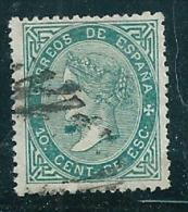 Spain 1867 Edifil 91 SG 103 Used - 1850-68 Kingdom: Isabella II