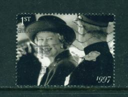 GREAT BRITAIN - 2007  Diamond Wedding  1st  Used As Scan - 1952-.... (Elizabeth II)