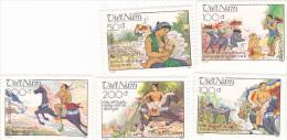 Vietnam 1989 Legend Of Jiong Set MNH - Vietnam